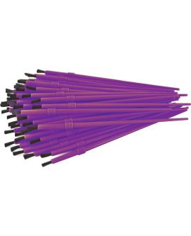 "Bulk Pack of 85 - 1/8"" Brushes"