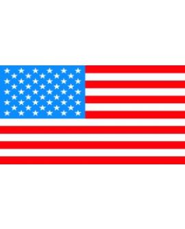 Flag - USA (Flat) Decal