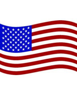 Flag - USA (Waving) Decal