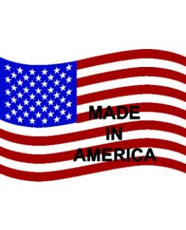 Flag - USA (Waving Made in America) Decal