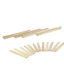Bulk Pack of 100 Craft Sticks