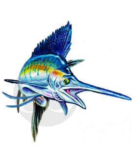 Sailfish (action) Decal